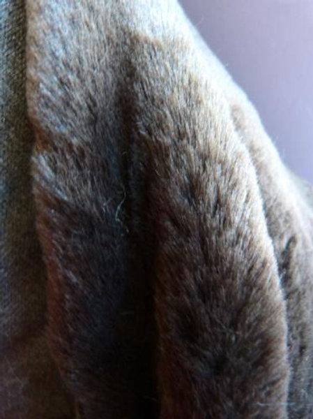 Fourrure marron-brun