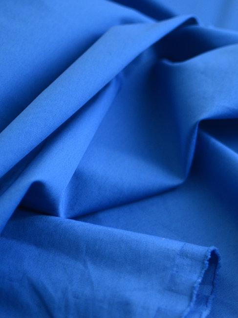 Popeline bleu roy