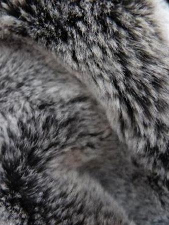 Fausse fourrure chinchilla