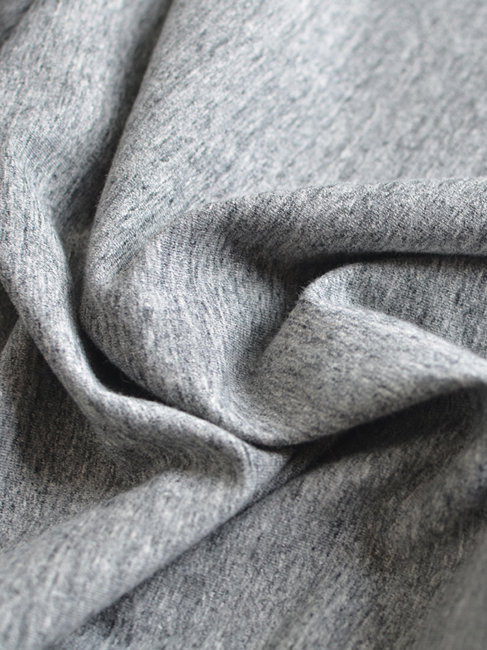 Jersey chiné gris