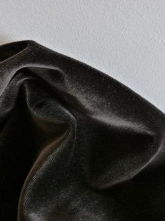 Velours uni noir