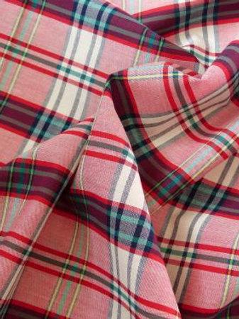 Superbe coton écossais