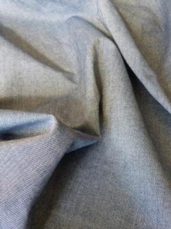 Tissu chambray fin et léger