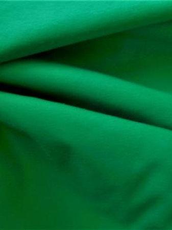 Popeline vert franc