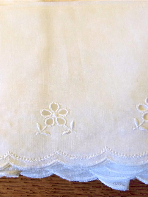 Broderie anglaise 100mm