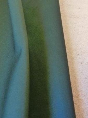 Popeline vert foncé