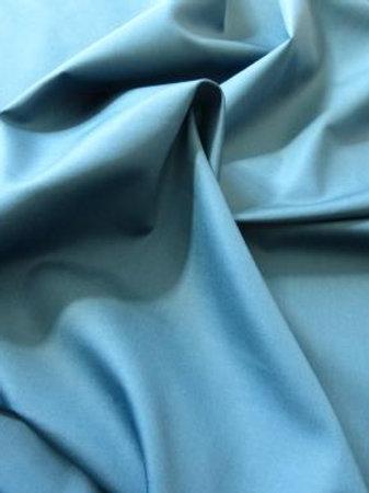 Popeline bleu ciel
