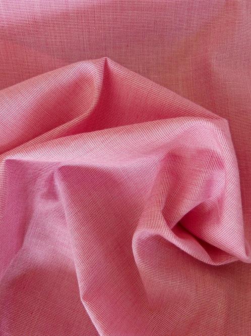 Coton tissé rose