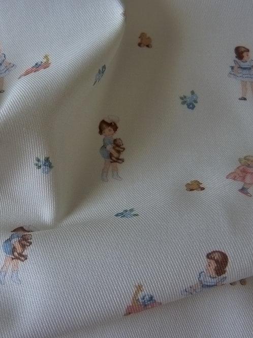 Tissu petites filles
