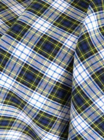 Coton écossais vert