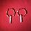 Thumbnail: Red Agate & Quartz Hoops