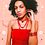 Thumbnail: Flame Sunset Carnelian Talisman