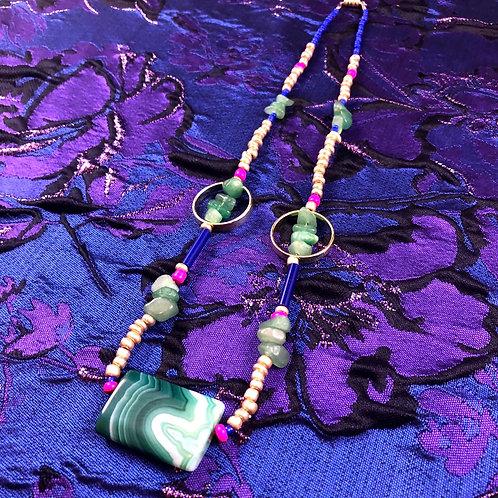 Green Agate Matriarch Talisman
