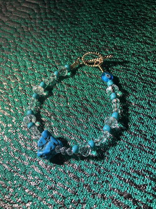 Turquoise Nazar Bracelet