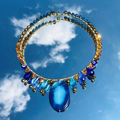 Atlantean Agate Choker Amulet
