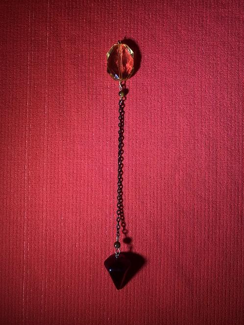 Onyx & Tiger's Eye Pendulum