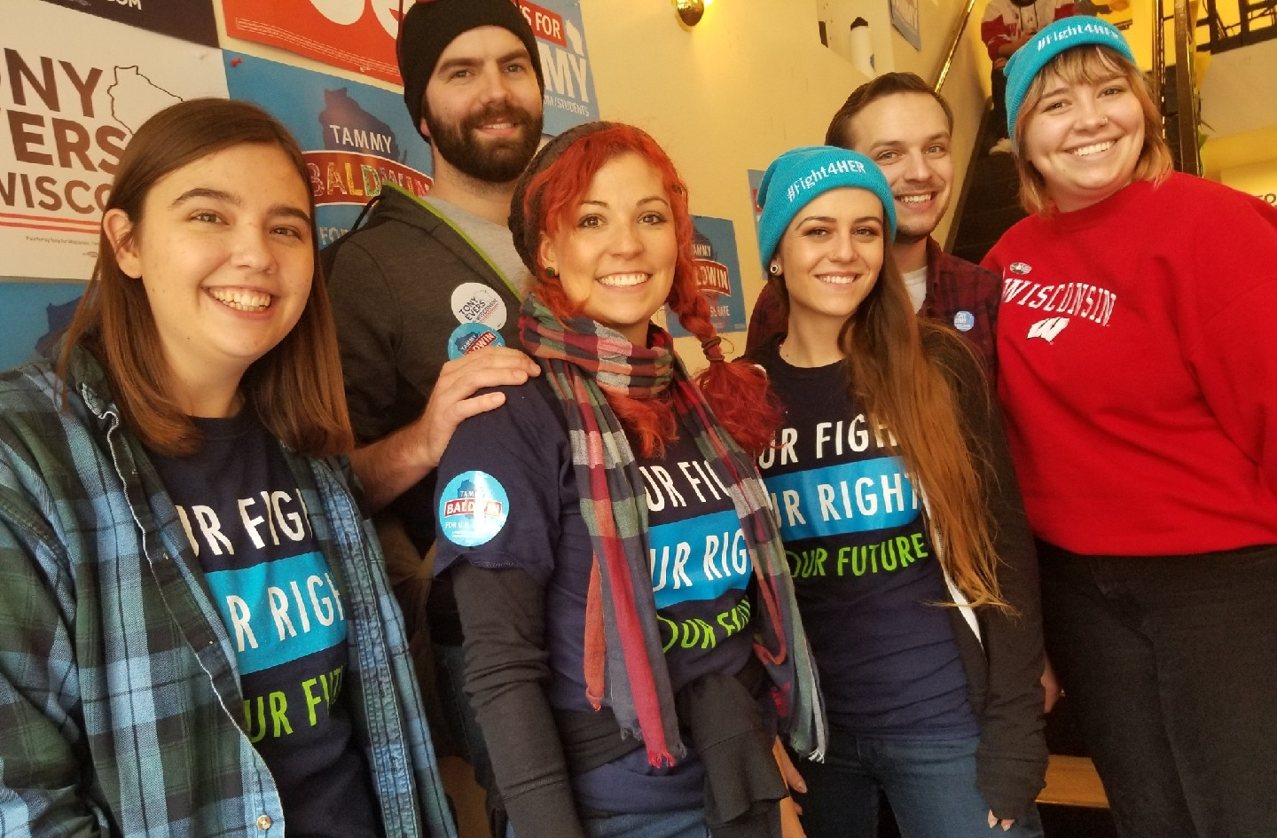 11.4.2018.WI.Volunteers Alex, Jess, and