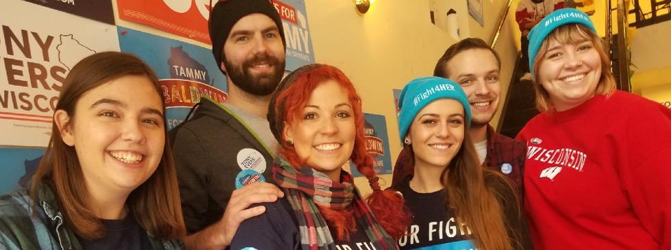 11.4.2018.WI.Volunteers Alex, Jess, and