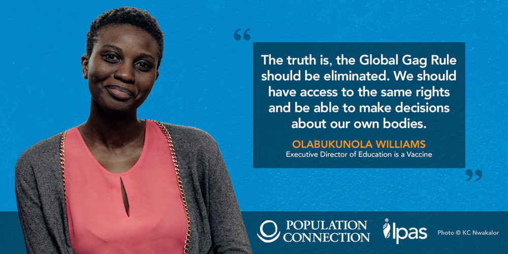 Bukky Williams, Executive Director, Education as a Vaccine