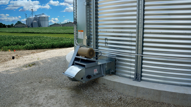VeyWay Grain Bin Conveyor System | IGSE Manufacturing