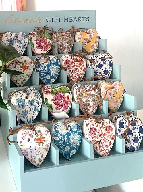 Ceramic Gift Hearts