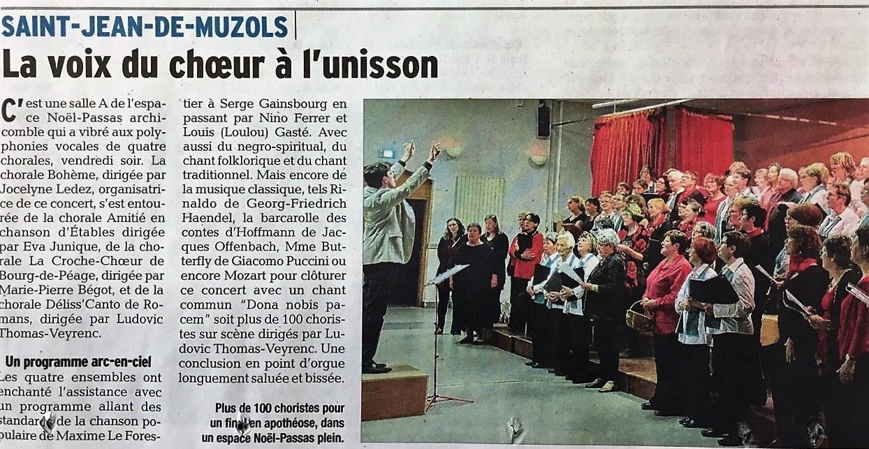 Le Dauphiné Libéré - 08.04.2018