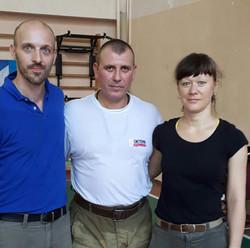 Avec Thierry et Nathalie (ANSDR)