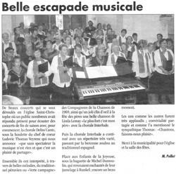 Article - Concert à Montmiral