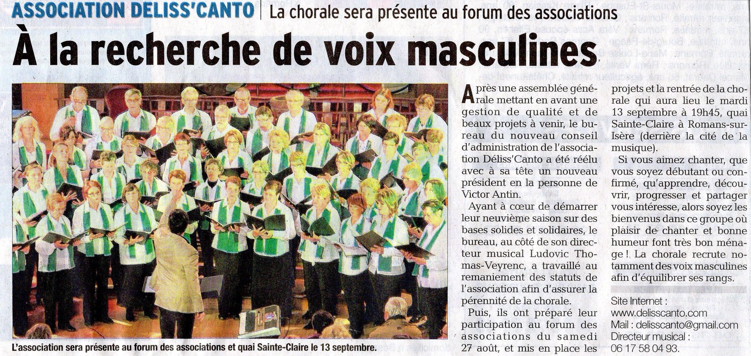 Le Dauphiné Libéré - 19/08/2016