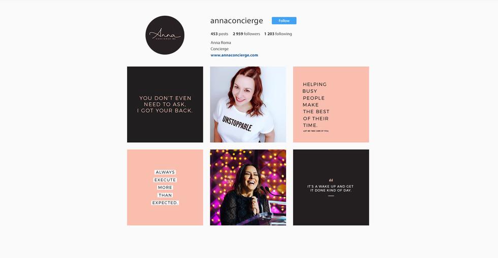 Anna Concierge Instagram