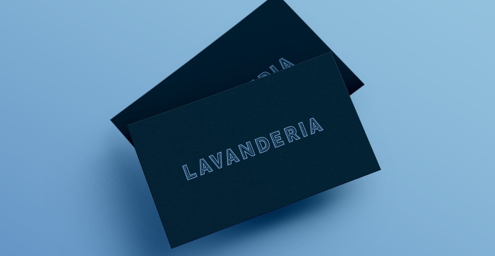 Lavanderia Business card