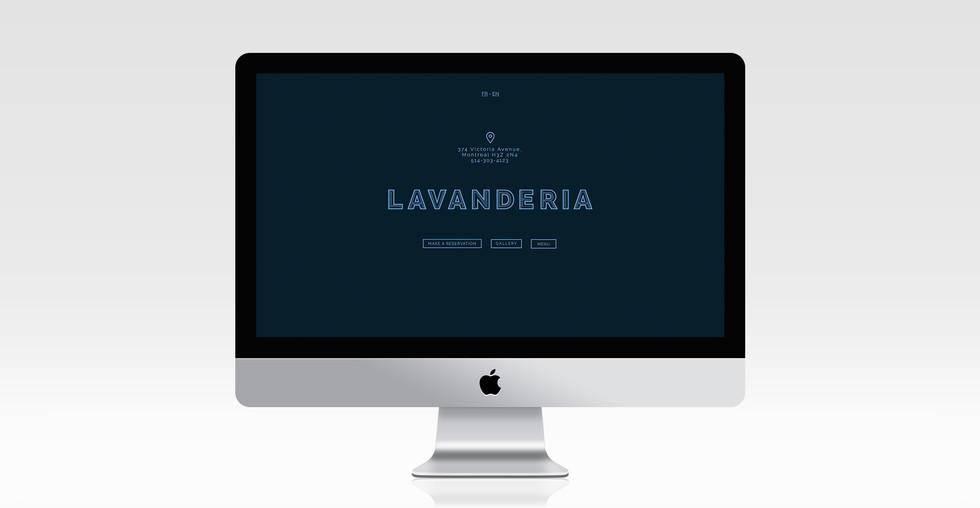 Lavanderia website
