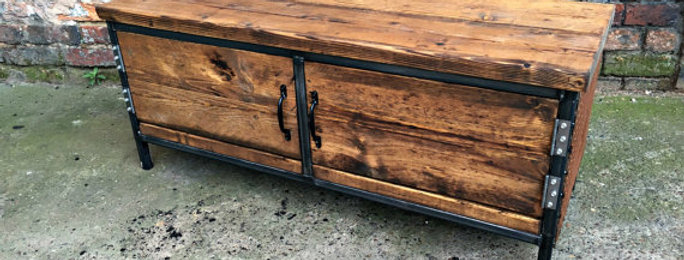 Reclaimed Industrial Chic Sideboard Dresser 197