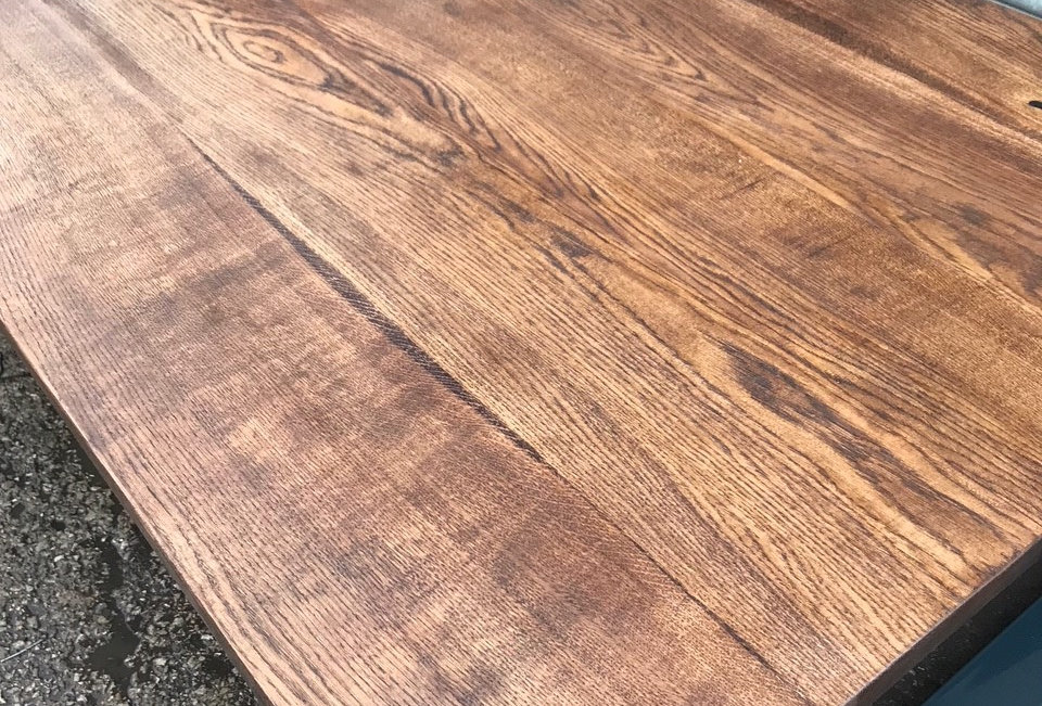 Full Stave Oak Sample - DARK OAK