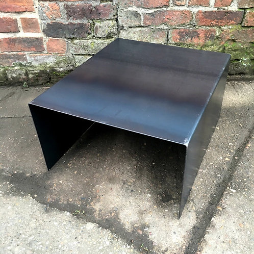 Industrial Chic All Steel Cube Coffee Side Table 208