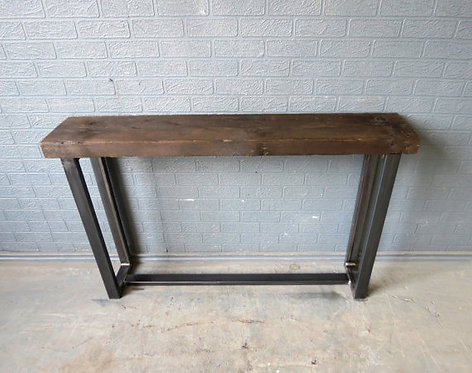 Industrial Chic Style Reclaimed Custom Hall Console Side Table 393