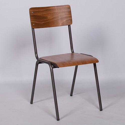 Industrial Chic Metal School Lab Dining chair