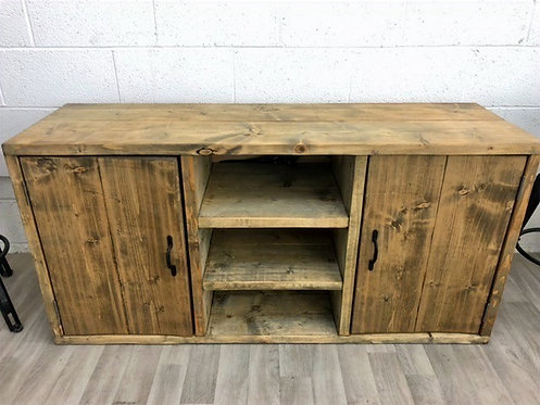 ***IN STOCK*** RECLAIMED TIMBER SIDEBOARD / TV UNIT IN OIL