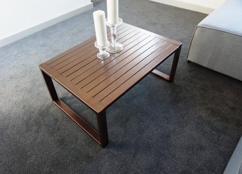 Modern Industrial Chic Copper U0027RADu0027 Coffee Table 290