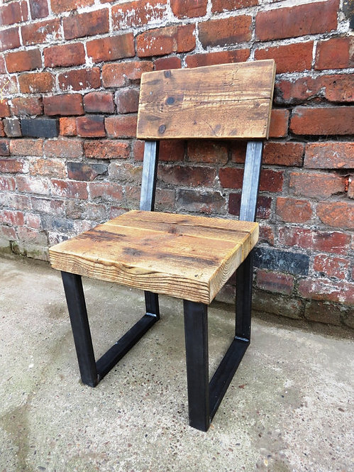 Reclaimed Industrial Chic Chair 005