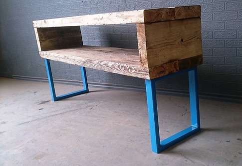 Industrial Chic Reclaimed Coffee Table TV Unit Stand 274