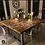 Thumbnail: Reclaimed Industrial 10-12 Seater Solid Wood & Metal Dining Table HCB 644