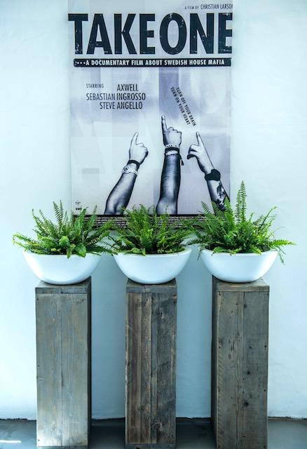 Industrial Chic Rustic Reclaimed Timber Planter Stand or Wood Side Table 557