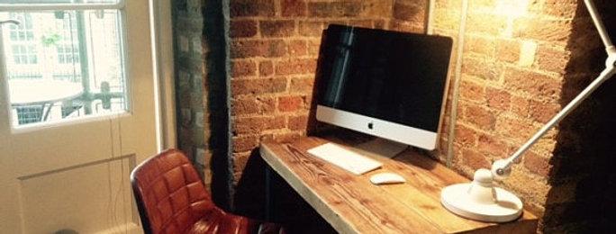 Industrial Chic Reclaimed Custom Office Desk / Bar Table 420