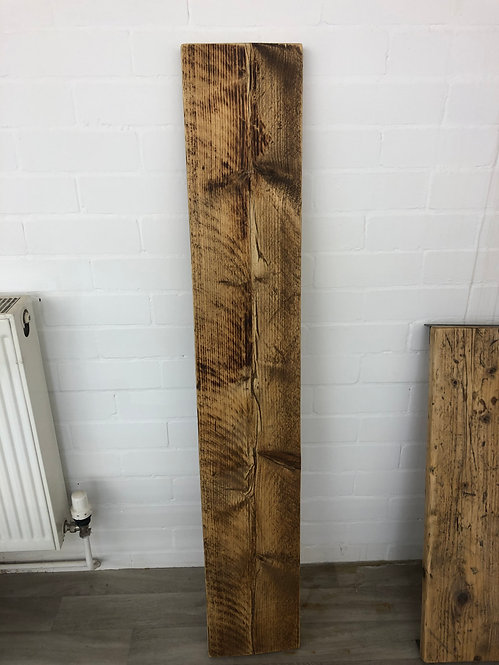 ***IN STOCK*** RECLAIMED TIMBER SHELF WITH BRACKETS IN OIL