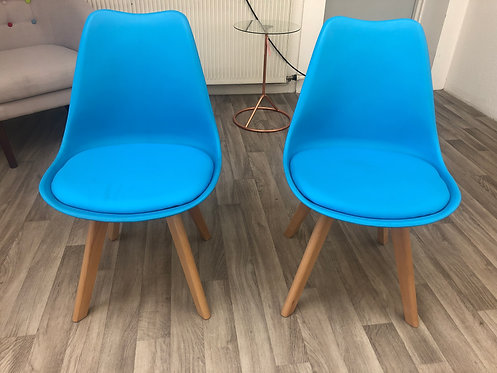 ***IN STOCK*** BLUE TULIP DINING CHAIR