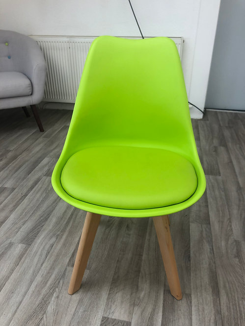 ***IN STOCK*** GREEN TULIP DINING CHAIR
