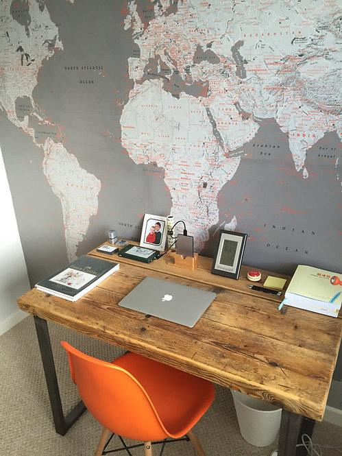 Industrial Chic Reclaimed Custom Office Desk / Bar Table 093