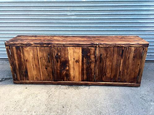 Reclaimed Industrial Chic Rustic Sideboard TV Unit Dresser 187