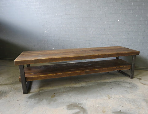 Industrial Chic Style Reclaimed Custom Coffee Table TV Unit 024